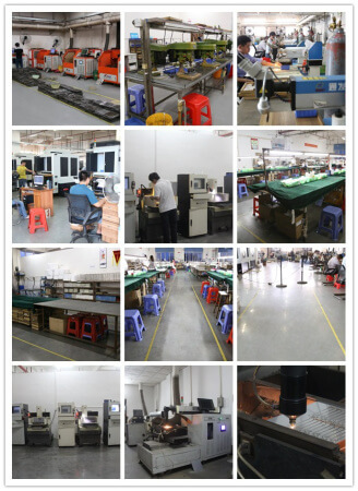 jewellery production line with CNC cut machines