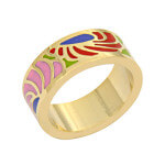 enamel ring wholesale
