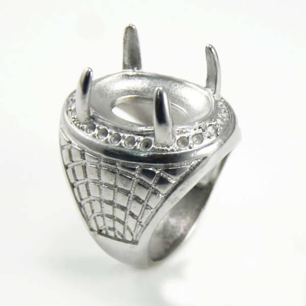 gems bottom ring titanium rings gemstone