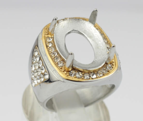 gemstone claw ring without stone