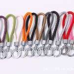 key chain colorful braided leather keychain manufacturer designs